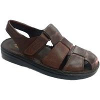 Sapatos Homem Sandálias Muñoz Y Tercero Homem sandália fechada pelo calcanhar de marrón