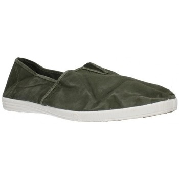 Sapatos Homem Slip on Natural World 305E Hombre Kaki vert