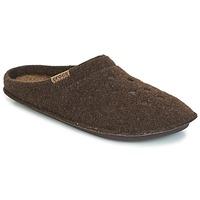 Sapatos Chinelos Crocs CLASSIC SLIPPER Castanho