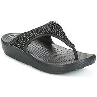 Sapatos Mulher Chinelos Crocs SLOANE Preto