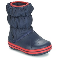 Sapatos Rapaz Botas de neve Crocs WINTER PUFF BOOT KIDS Marinho