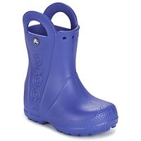 Sapatos Criança Botas de borracha Crocs HANDLE IT RAIN BOOT Azul