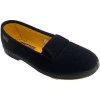 Sapatos Mulher Chinelos Doctor Cutillas Slipper pessoa idosa com borracha nas la negro