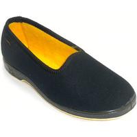 Sapatos Mulher Chinelos Doctor Cutillas mulheres sapatos pessoa idosa confortável  em Preto negro