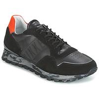 Sapatos Homem Sapatilhas Bikkembergs FEND-ER 946 Preto / Laranja