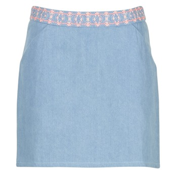Textil Mulher Saias Yurban  Azul