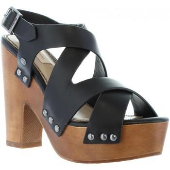 Sapatos Mulher Sandálias Pepe jeans PLS90152 JOPLIN Negro