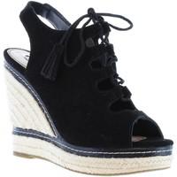 Sapatos Mulher Sandálias Pepe jeans PLS90180 WALKER Negro