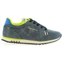 Sapatos Criança Sapatilhas Pepe jeans PBS30200 SYDNEY Azul