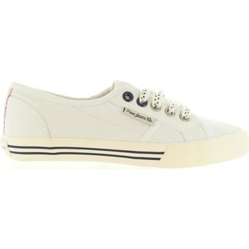 Sapatos Criança Sapatilhas Pepe jeans PGS30179 BAKER Blanco