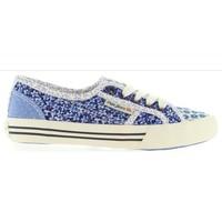 Sapatos Criança Sapatilhas Pepe jeans PGS30186 BAKER Azul