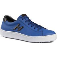 Sapatos Homem Sapatilhas Hogan HXM3020W550ETV809A blu