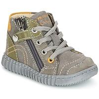 Sapatos Rapaz Botas baixas Primigi PSM 8028 Cinza