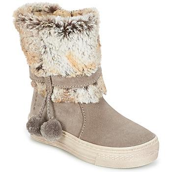 Sapatos Rapariga Botas baixas Primigi PSA 8164 Cinza / Rosa