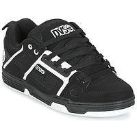 Sapatos Homem Sapatilhas DVS COMANCHE Preto / Branco