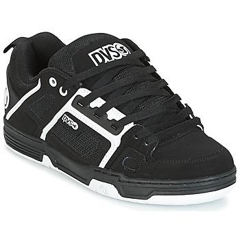 Sapatos Sapatilhas DVS COMANCHE Preto / Branco