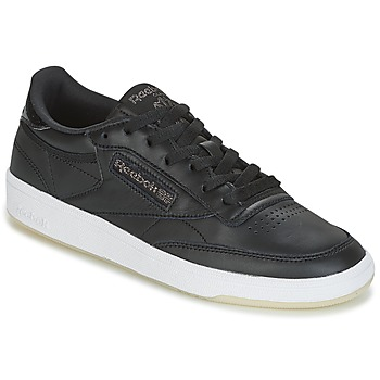 Sapatos Mulher Sapatilhas Reebok Classic CLUB C 85 LTHR Preto