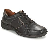Sapatos Homem Sapatos Josef Seibel ANVERS 49 Preto