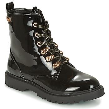 Sapatos Mulher Botas baixas Kaporal SANGOAN Preto