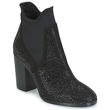 Sapatos Mulher Botins Café Noir JORDE Preto