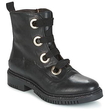 Sapatos Mulher Botas baixas Café Noir MAR Preto