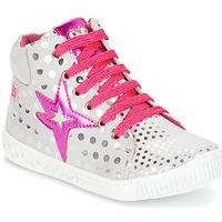 Sapatos Rapariga Sapatilhas de cano-alto Agatha Ruiz de la Prada FLOW Prateado