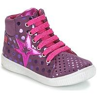 Sapatos Rapariga Sapatilhas de cano-alto Agatha Ruiz de la Prada FLOW Violeta