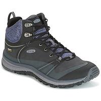 Sapatos Mulher Sapatos de caminhada Keen TERRAODORA PULSE MID WP Preto