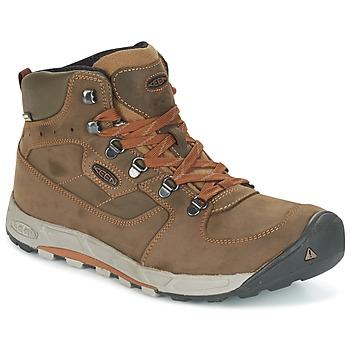 Sapatos Homem Sapatos de caminhada Keen WESTWARD MID LEATHER WP Preto