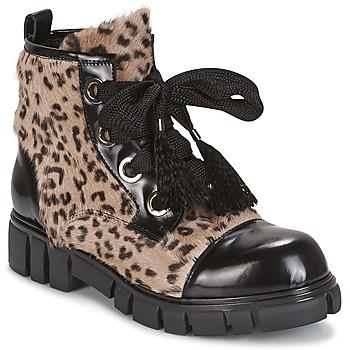 Sapatos Mulher Botas baixas Now ARRABIATA Preto