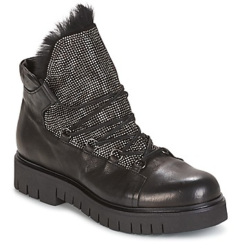 Sapatos Mulher Botas baixas Now BIANCO Preto