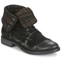 Sapatos Mulher Botas baixas Now BIANCA II Preto