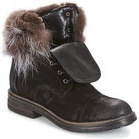 Sapatos Mulher Botas baixas Now BIANCA III Preto