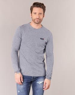 Textil Homem T-shirt mangas compridas Superdry ORANGE LABEL VINTAGE Cinza