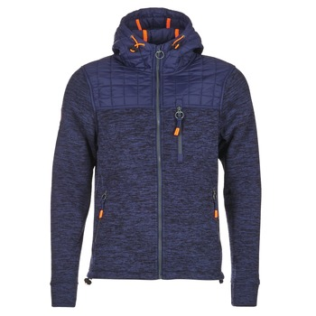 Textil Homem Sweats Superdry MOUNTAIN QUILTED SHERPA Marinho