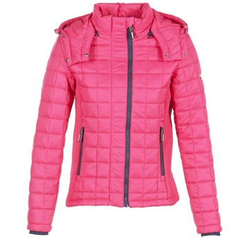 Textil Mulher Quispos Superdry FUJI BOX QUILTED Rosa