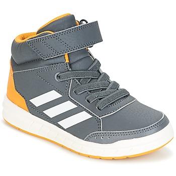 Sapatos Rapaz Sapatilhas de cano-alto adidas Performance ALTASPORT MID EL K Cinza