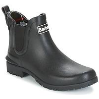 Sapatos Mulher Botas de borracha Barbour WILTON Preto