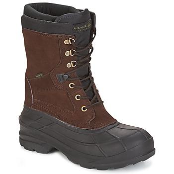 Sapatos Homem Botas de neve KAMIK NATION PLUS Castanho / Escuro