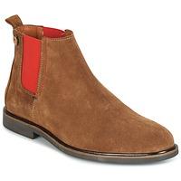 Sapatos Homem Botas baixas Faguo CORK02 Castanho