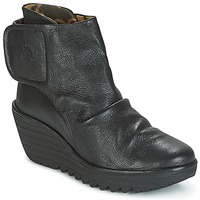 Sapatos Mulher Botins Fly London YOMI Preto