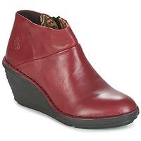 Sapatos Mulher Botas baixas Fly London SIPI 671 Vermelho