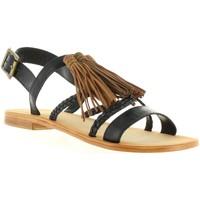 Sapatos Mulher Sandálias MTNG 94438 Negro