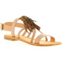 Sapatos Mulher Sandálias MTNG 94438 Beige