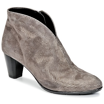 Sapatos Mulher Botins Ara MORTAD Cinza / Prateado