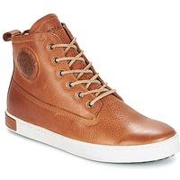 Sapatos Homem Sapatilhas de cano-alto Blackstone GM06 Castanho
