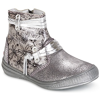 Sapatos Rapariga Botas baixas GBB REVA Prata