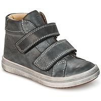Sapatos Rapaz Sapatilhas de cano-alto GBB NAZAIRE Cinza