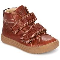 Sapatos Rapaz Sapatilhas de cano-alto GBB NAZAIRE Fauve