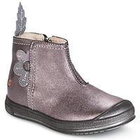 Sapatos Rapariga Botas baixas GBB ROMANE Madeira / Rosa